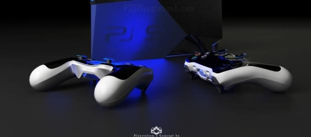 Playstation 5 Console and Controller by David Hansson - ps5playstation5.com