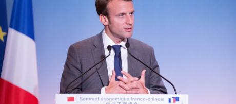 Président Emmanuel Macron - congrès de Versailles et visite du Président Trump CC BY