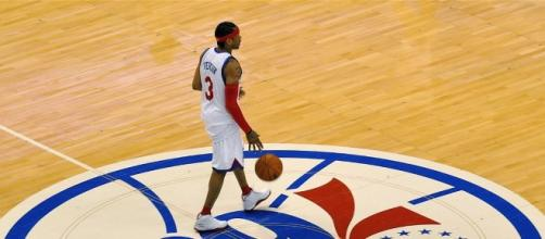 """Allen Iverson was """"the god"""" to LeBron James/Photo by Kevin Burkett CC BY-SA 2.0"""