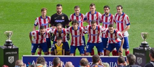 Atletico Madrid 2014 - Team photo