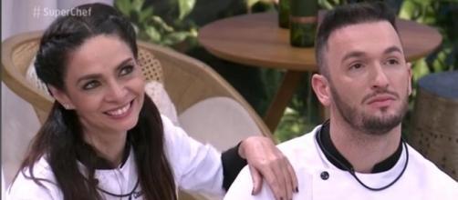 """Diego Hypolito passou por um susto durante a gravação do """"Super Chef Celebridades"""", do """"Mais Você""""."""