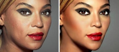 Famosas com e sem Photoshop: veja a diferença