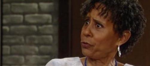 'General Hospital' spoilers- Stella (Vernee Watson) collapses next week (Image via Twitter @pmekame)