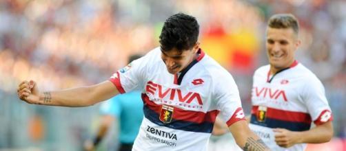 Il gol del talento Pellegri in Roma Genoa