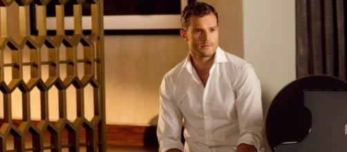 "Is Jamie Dornan ready to move on from his ""Fifty Shades"" co-star after actress caught with alleged new man? (via Blasting News library)"