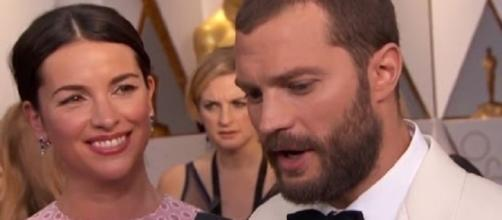 Jamie Dornan and Amelia Warner are going strong as a couple (Image Credit: Mahi's world/YouTube)