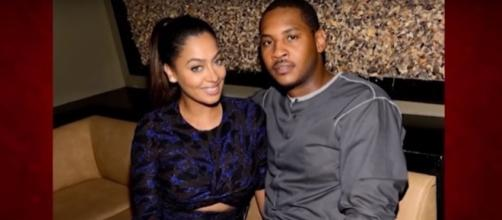 La La Anthony speaks up about her marriage with Carmelo. (YouTube/TMZ)
