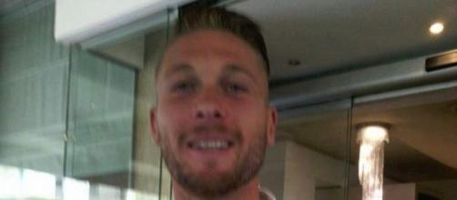 L'attaccante del Lecce, Salvatore Caturano.
