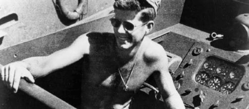 Lt JG John F Kennedy (United States Navy wikimedia)