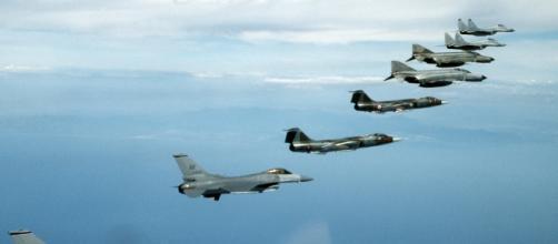 NATO_fighters_1995_F-16_F-104_F-4_MiG-29