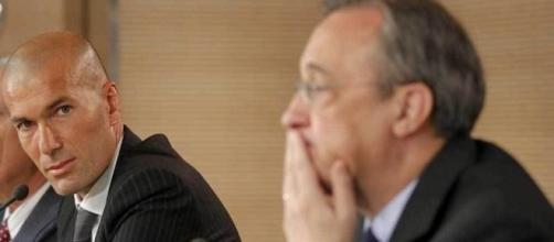 Primer conflicto Zidane-Florentino Pérez - Madrid-Barcelona - madrid-barcelona.com