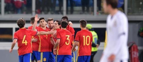 Scuffet para tutto, Pellegrini segna: la Spagna vince a Roma, ma ... - eurosport.com