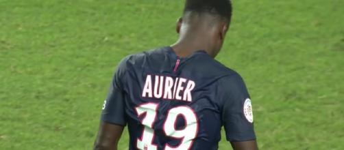 Serge Aurier del Paris Saint-Germain.