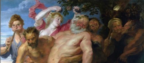 Sileno borracho realizada por Rubens (1610)