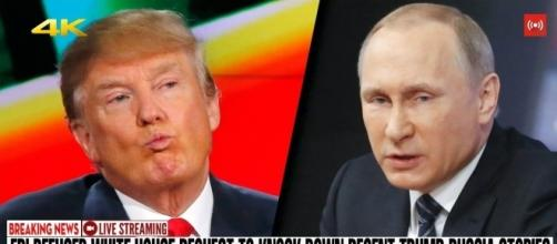 Trump and Putin are two of the most distrusted world leaders. Photo via Song Tu Yen, YouTube.
