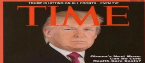 Trump presume fotografía de una portada que nunca existió