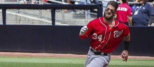 Washington's Bryce Harper is the No. 1 vote-getter for the 2017 MLB All-Star game.