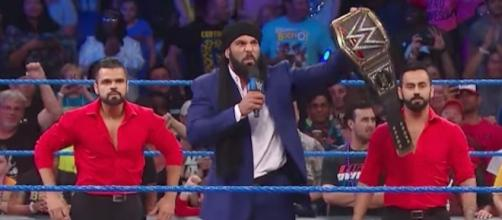 WWE World Champion Jinder Mahal will defend his title against Randy Orton at 'Battleground' PPV. [Image via WWE/YouTube]