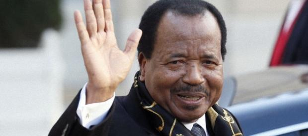 Paul Biya, le Président sortant