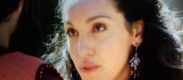 Hurzabum se declara para Rebeca. (Foto: Reprodução/Record TV)