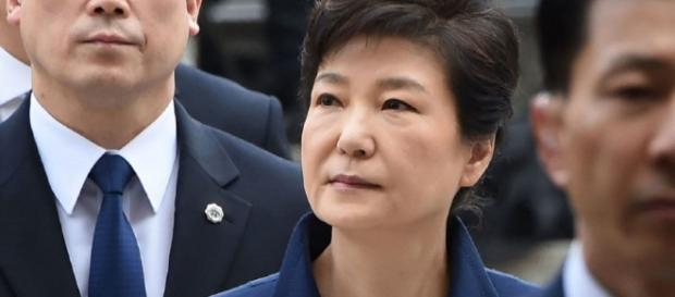 Former South Korean President Park Geun-Hye