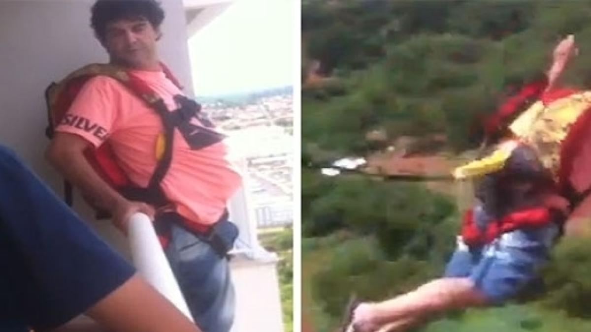 2ddfed5c71 Conheça o  louco  que comprou paraquedas no Mercado Livre e saltou do 27º  andar