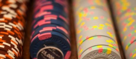 The chips in one of the private high-stakes poker rooms at… | Flickr - flickr.com