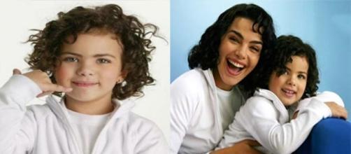 Rafaela Romolo tinha 3 anos quando participou da campanha