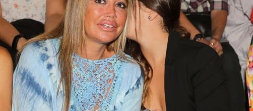 Belén Esteban con su hija Andrea