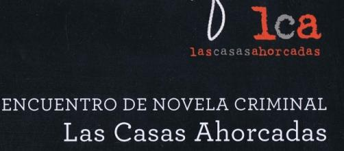 Cartel promocional del encuentro organizado por LAS CASAS AHORCADAS - blogspot.com