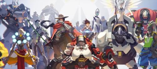 "Death Ball is a team comp in ""Overwatch"" relies heavily on heroes with AoE damage and shielding capabilities (via YouTube/PlayOverwatch)"
