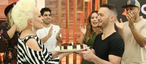 Diego Hypólito quase morre no programa de Ana Maria Braga