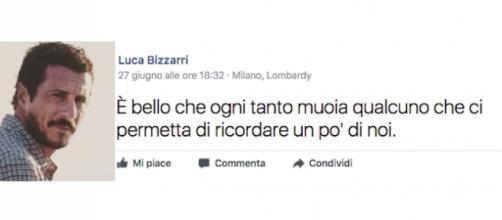 Il post di Luca Bizzarri dopo la morte di Paolo Limiti