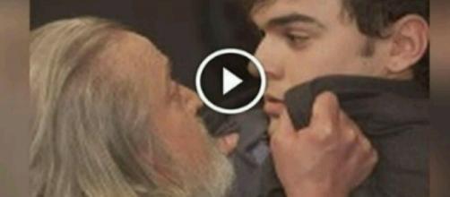 Il Segreto: Il padre di Marcela minaccia Matias, 'ti uccido figlio di satana'