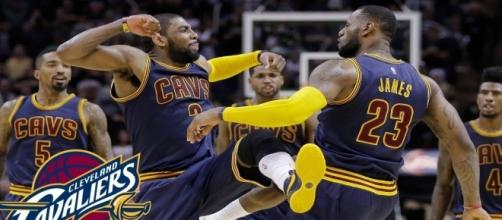 Image via Youtube channel: Cleveland Cavaliers Basketball #LeBronJames #JRSmith