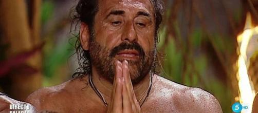 Juan Miguel, uno de los nominados de esta semana en Supervivientes