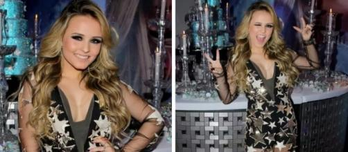 Larissa Manoela ousa com macacão transparente de R$ 6,5 mil