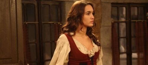 Megan Montaner, protagonista de Il Segreto