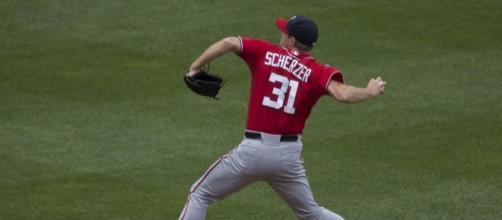 Nationals pitcher, Max Scherzer-Flickr