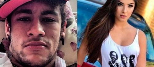 Neymar e Gabriela já trocam mensagens desde abril