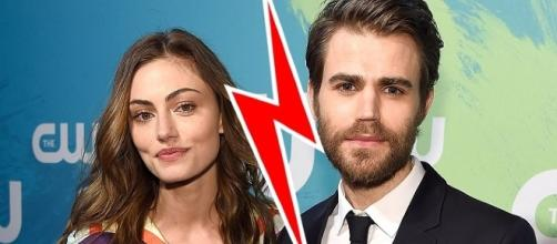 Phoebe Tonkin and Paul Wesley back together (Image Credit: Clevver News/YouTube)