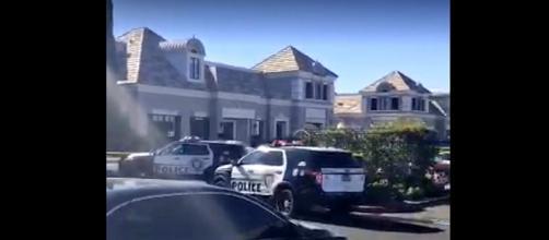 Photo Las Vegas pain center screen capture from Twitter video / @rachelacrosby
