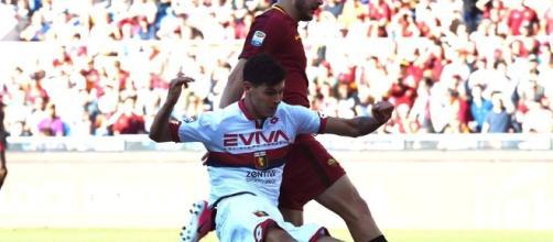 Pietro Pellegri realizza il suo primo gol in Serie A contro la Roma