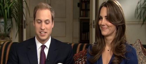 Prince William and Kate Middleton / Photo via ODN , YouTube