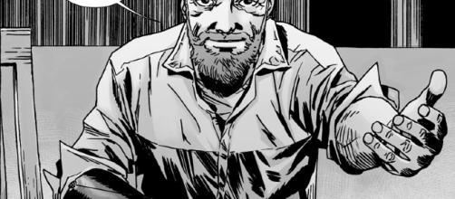 Rick Grimes depois do grande salto temporal que aconteceu após a Guerra Total
