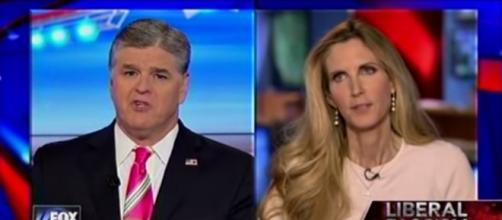 Sean Hannity and Ann Coulter, via YouTube