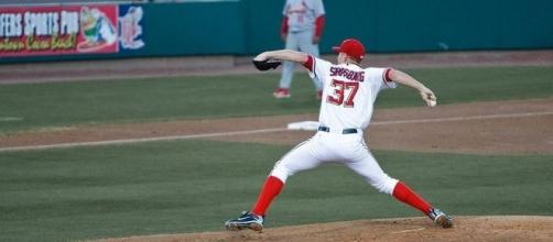 Strasburg dominates as Nationals rout Cubs, Wikimedia Commons https://commons.wikimedia.org/wiki/File:Stephen_Strasburg_2010_Spring_Training.jpg