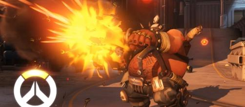 """The latest patch Blizzard introduced reduced Roadhog's bullet damage to 30 percent in """"Overwatch"""" (via YouTube/PlayOverwatch)"""