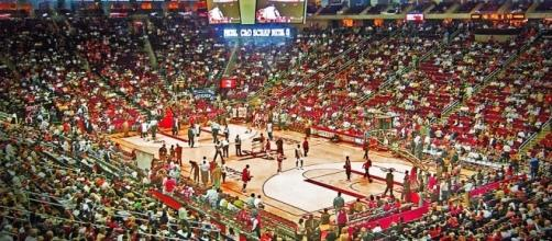 The Toyota Center, home of the Houston Rockets (Wikimedia Commons - wikimedia.org)