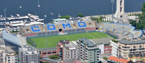 Una vista dello stadio Giuseppe Sinigalia di Como - altervista.org